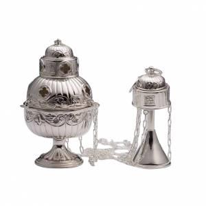 Weihrauchfässer, Weihrauchschiffchen: Weirauchfass aus Silber 800