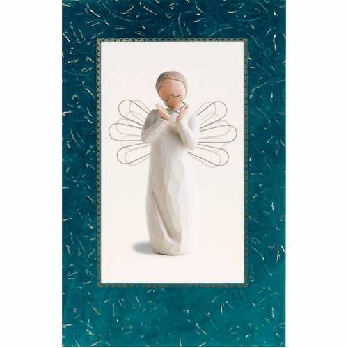 Willow Tree Card - Bright Star (angelo con stella) s1