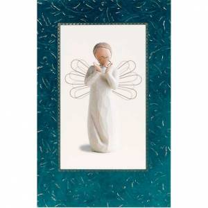 Tarjetas de Felicitaciones: Willow Tree Card -Bright Star (estrella brillante)