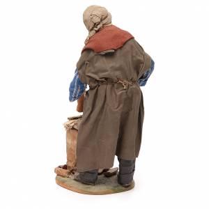 Woodcutter, Neapolitan nativity figurine 30cm s3