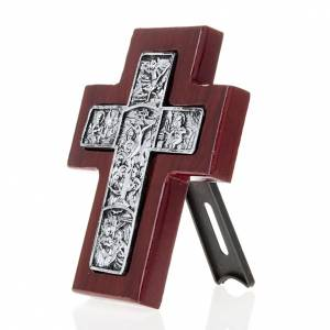 Wooden cross with stand s3