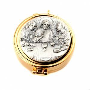 Hostiendosen und Hostienbehälter: Ziborium aus Silbern