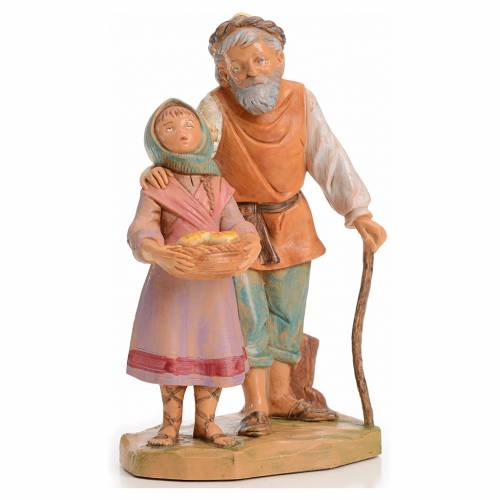 Abigail e Peter 12 cm Fontanini edizione limitata anno 1994 s1