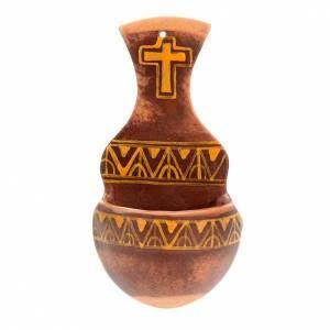 Acquasantiere: Acquasantiera anfora ceramica