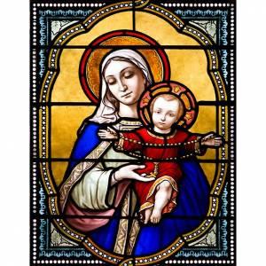 Adhésif Mère de Dieu, 23x30 cm s1