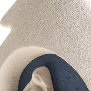 Alberello a parete natività blu argilla s5