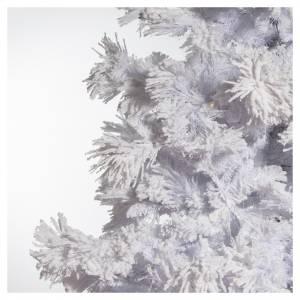 STOCK Albero di Natale bianco innevato 270 cm luci led 700 s4