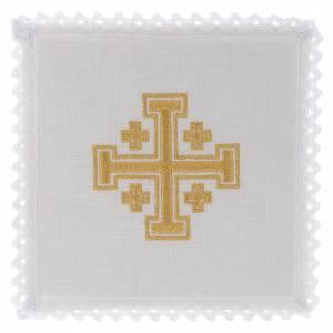 Altar linens: Altar linen Jerusalem Cross