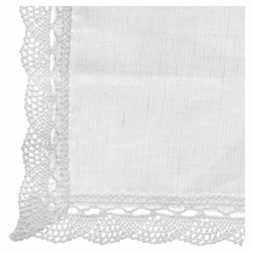 Altar linens, Manuterge in linen and cotton, 2 pieces s2