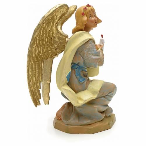 Ange à genoux crèche Fontanini 19 cm s2