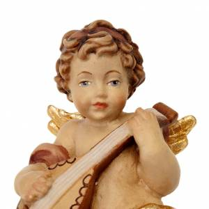 Décorations sapin bois et pvc: Ange avec guitare