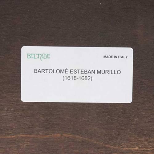 Ange gardien du Murillo imprimé sur bois s3