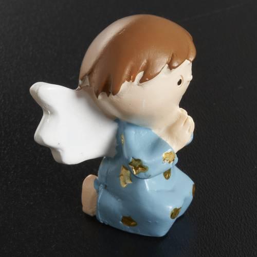 Angel in blue resin s3