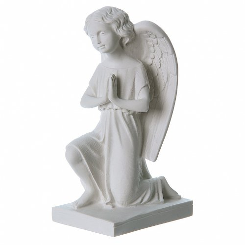 Angel, right, in Carrara marble dust 9,45in s2