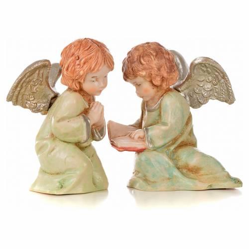 Angeli 8 pz Fontanini cm 7,5 tipo porcellana s6