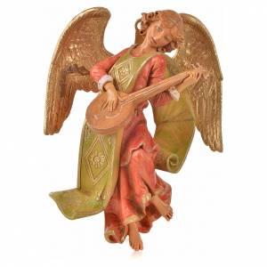 Angeli: Angelo con mandolino cm 21 Fontanini