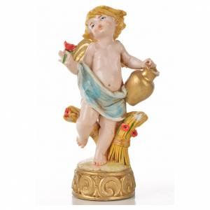 Angelots des saisons 12 cm Fontanini type porcelaine s3