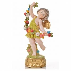 Angelots des saisons 12 cm Fontanini type porcelaine s5