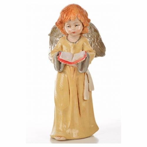 Anges debout 15 cm Fontanini 6 pcs type porcelaine s6