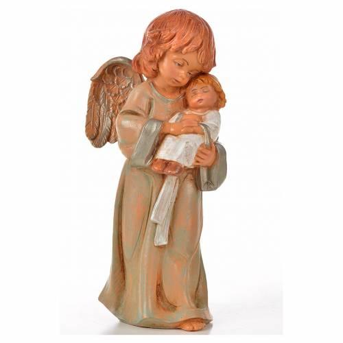 Anges debout 15 cm Fontanini 6 pcs s7