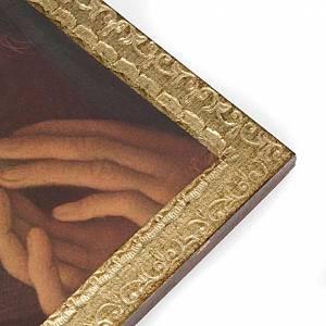 Anges imprimés sur bois avec cadre s2