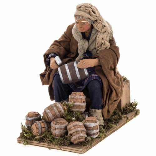 Animated nativity scene, cooper 24 cm s1