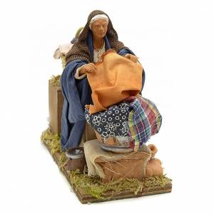 Neapolitan Nativity Scene: Animated nativity scene,  laudress at work12 cm