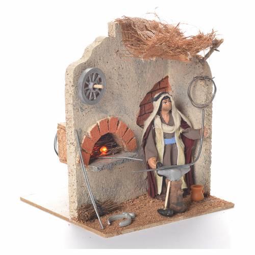 Animated smith 10cm Neapolitan Nativity s2