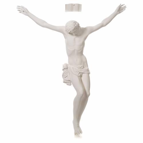 Appliqué Corps du Christ fibre de verre 90-120 cm s1