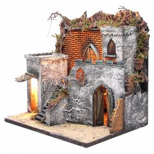 Arabian corner for Neapolitan Nativity 37x10x30cm s2