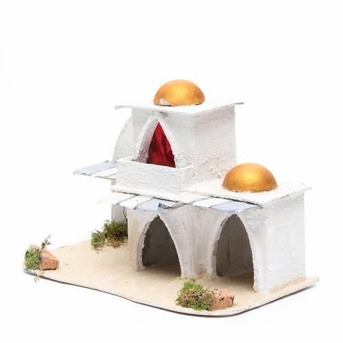 Arabian house for nativities measuring 21.5x29x17cm s2