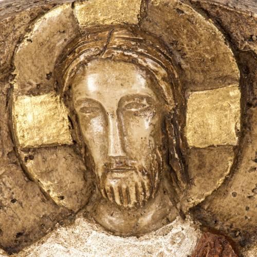 Ascensione bassorilievo pietra Bethléem s2