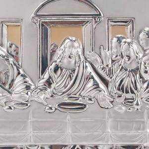 Bajorrelieves de plata: Bajorrelieve oro/plata última cena de Leonardo