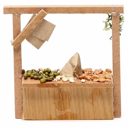 Banc crèche céréales olives 10,5x11x4 cm s2