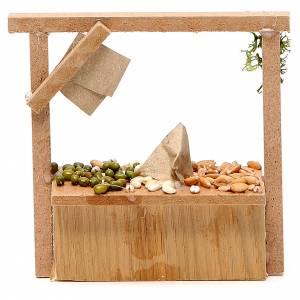 Banchetto presepe cereali olive  10,5x11x4 cm s2