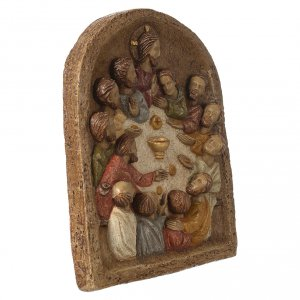 Bas-relief istitution de l'Eucharistie s3
