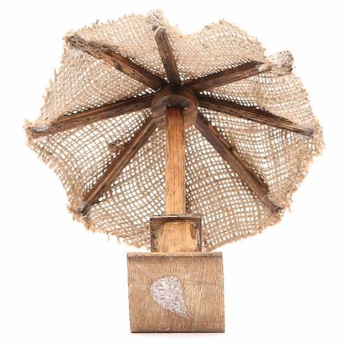 Beach Umbrella jute Nativity 16x16x16cm s3