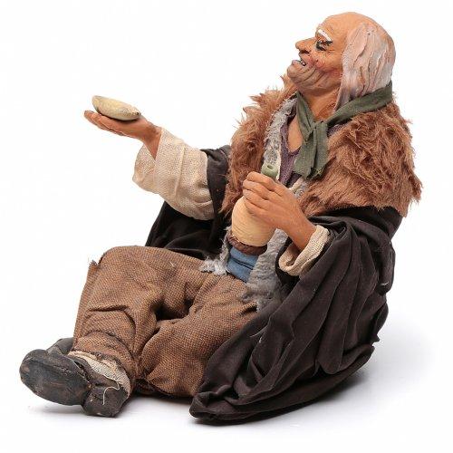 Beggar, Neapolitan Nativity 30cm s2