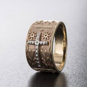 Bishop's ring in 9kt pink gold s3