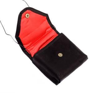 Black leather Pyx case s3