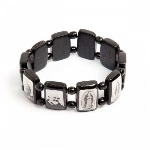 Black multi-image bracelet s1