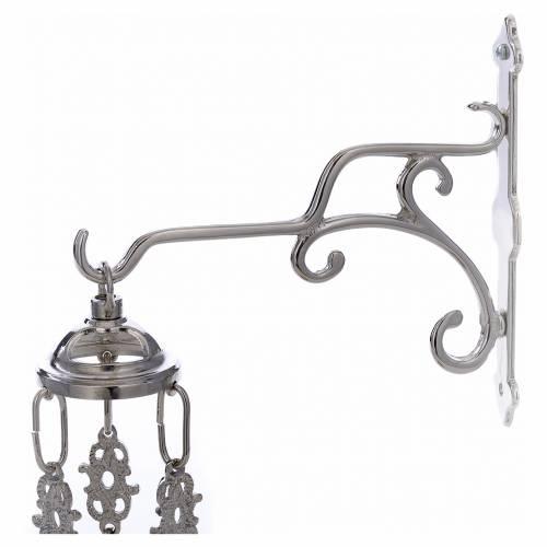 Blessed Sacrament liquid wax lamp, silver s4