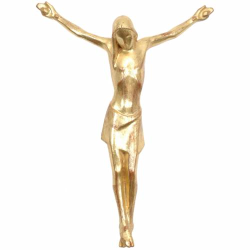 Body of Christ, Corpus in Valgardena wood, gold 1