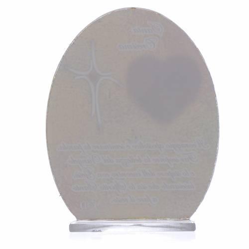 Bomboniera Cresima Papa Francesco 10,5 cm s2