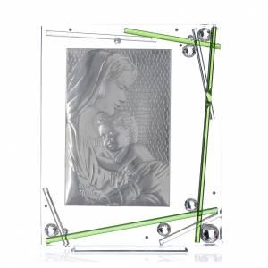 Bomboniera Nascita Quadro Maternità Verde 34x28 cm s3
