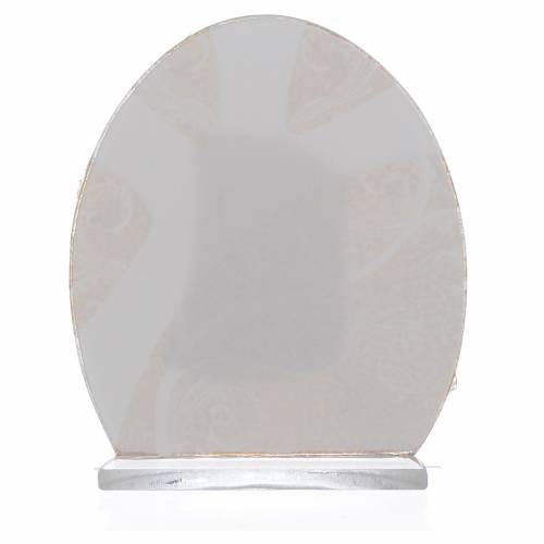 Bomboniera Sacra Famiglia Argento 8,5 cm s2