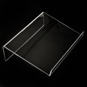 Book stands: Book stand in plexiglass, 5mm rounded