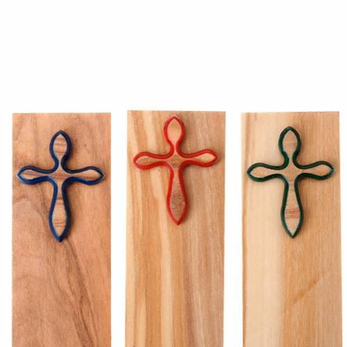 Bookmark colored cross s2