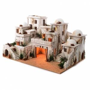 Borgo arabo completo con capanna 42x70x50 cm s3