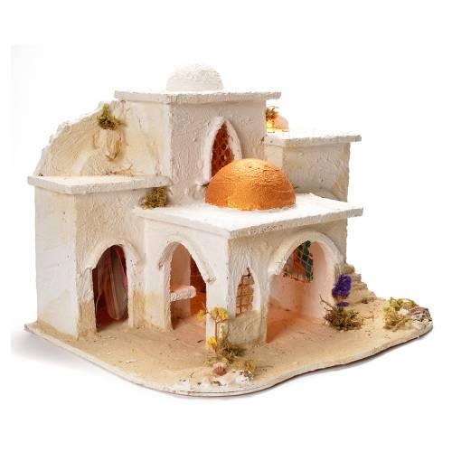 Borgo arabo per presepe 37X20X50 cm s2